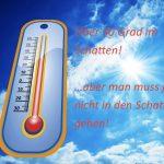 Sommer Tipps für die Wärme