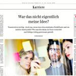 Ideenklau – Interview mit Gabriele Duchek in der Berliner Zeitung